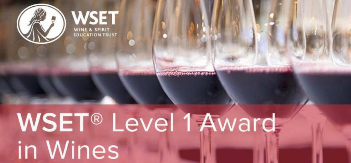 The Tasting Class WSET Level 1 Award in Grape