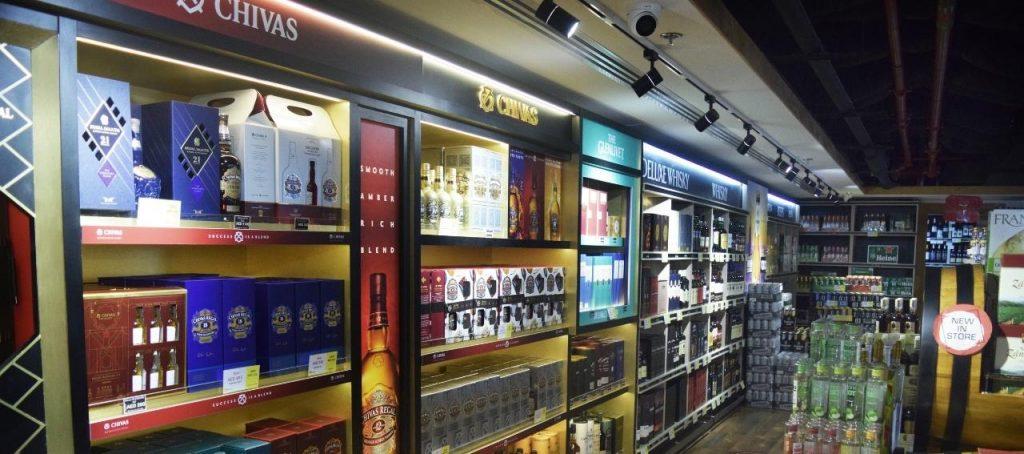 Gray Mackenzie Alcohol Store