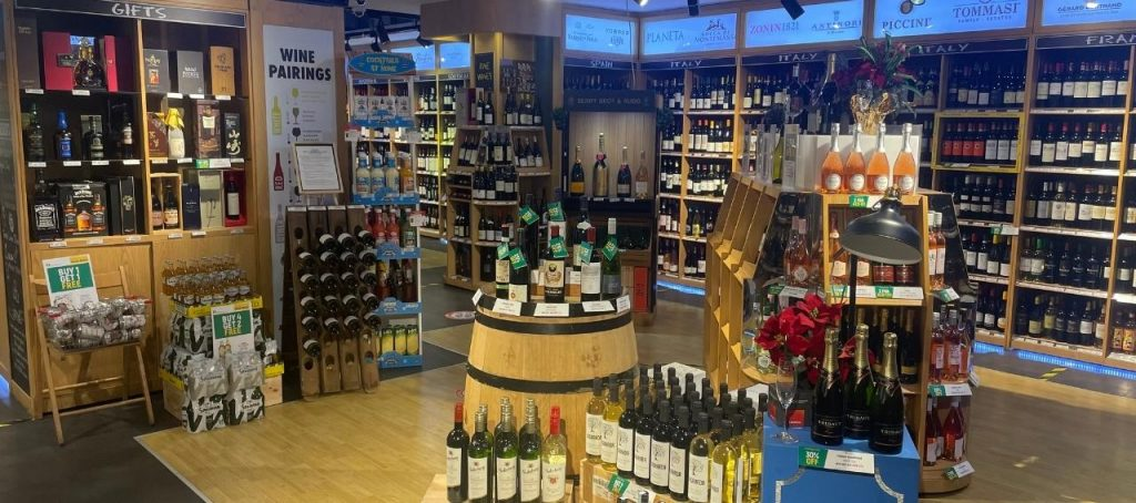 Spinneys St Regis Alcohol Store