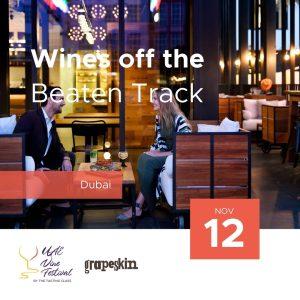 12 Nov - Wines off the Beaten Track