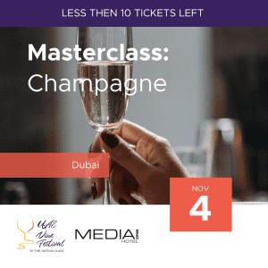 Masterclass - Champagne 4 Nov