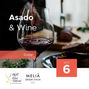 6 Nov - Asado & Wine