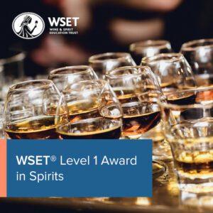 Level 1 Awards in Spirits - Exam Resit Only