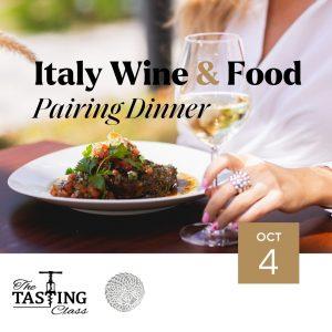 Italy Wine & Food Pairing Dinner
