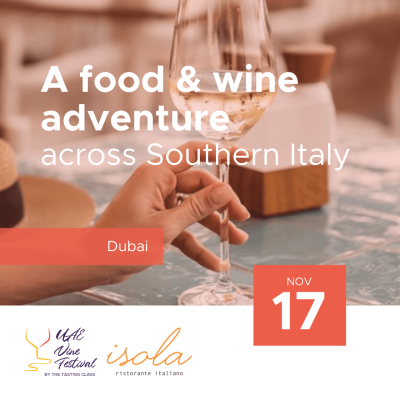 Nov 17 - A food and wine adventure across Southern Italy